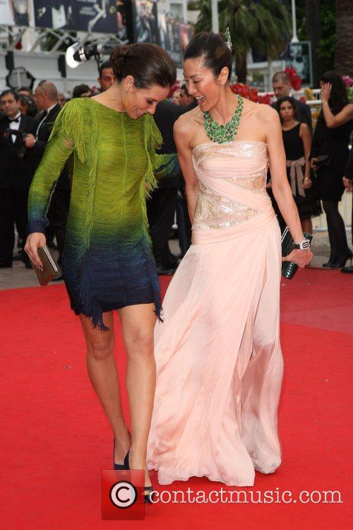 Michelle Yeoh and Evangeline Lily 1