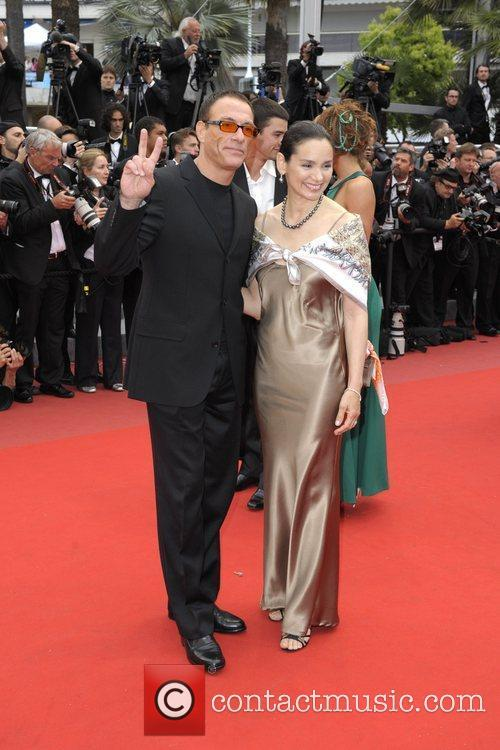 Jean Claude Van Damme and Gladys Portugues 3