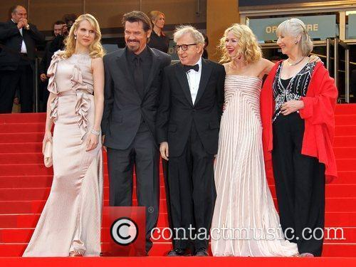 Lucy Punch, Josh Brolin, Naomi Watts and Woody Allen 1