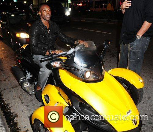 Attends Chad Ochocinco's Birthday Party at Mansion nightclub