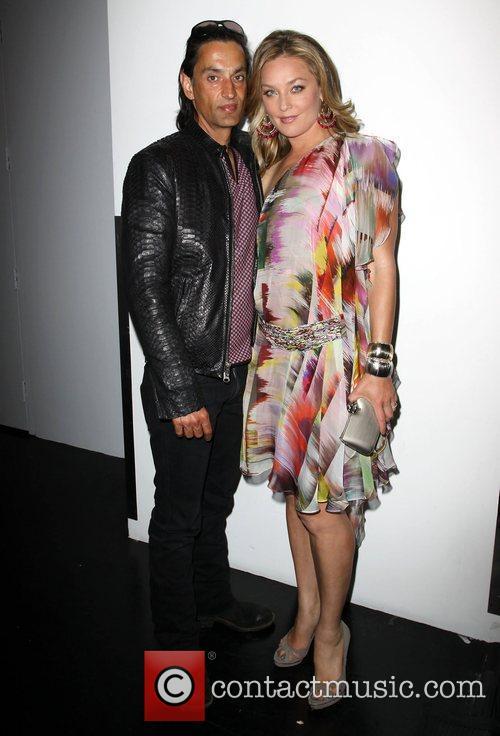 Elisabeth Rohm and husband Ron Wooster Fashion Designer...
