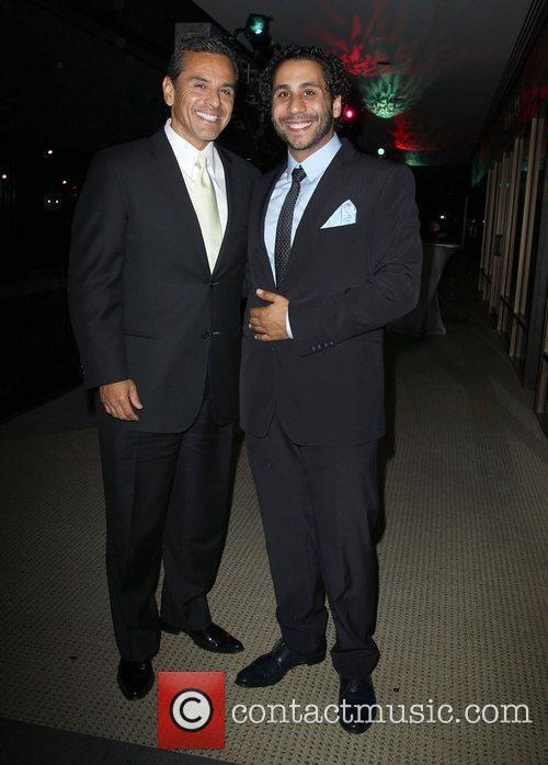 Los Angeles Mayor Antonio Villaraigosa, Gilbert Chagoury Fashion...