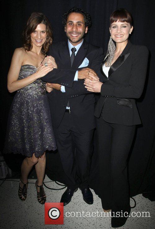 Perrey Reeves, Gilbert Chagoury, Carla Gugino Fashion Designer...