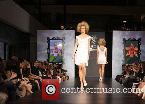 Model Fashion Designer Gilbert Chagoury hosts his first...