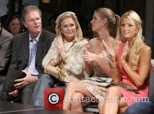 Rick Hilton, Kathy Hilton, Nicky Hilton and Paris...