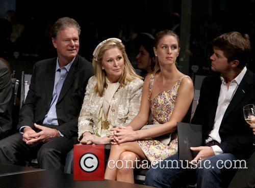 Rick Hilton, Kathy Hilton, Nicky Hilton and guest...