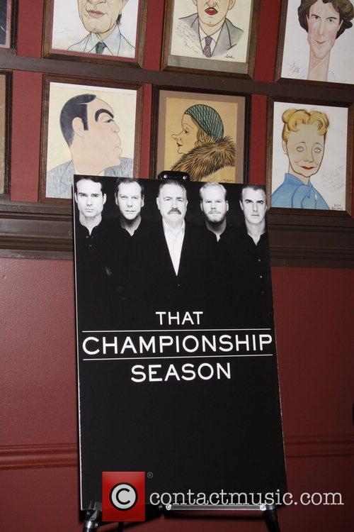 Atmosphere Photocall for the Broadway play 'That Championship...