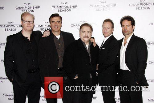 Jim Gaffigan, Brian Cox, Chris Noth, Jason Patric and Kiefer Sutherland 2