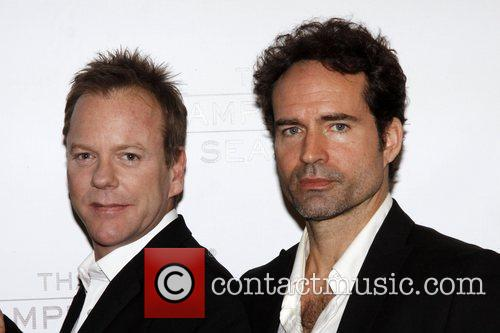 Kiefer Sutherland and Jason Patric Photocall for the...