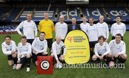 Charity football match in aid of Cystic Fibrosis...
