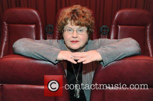 Bestselling author Charlaine Harris at a photocall at...