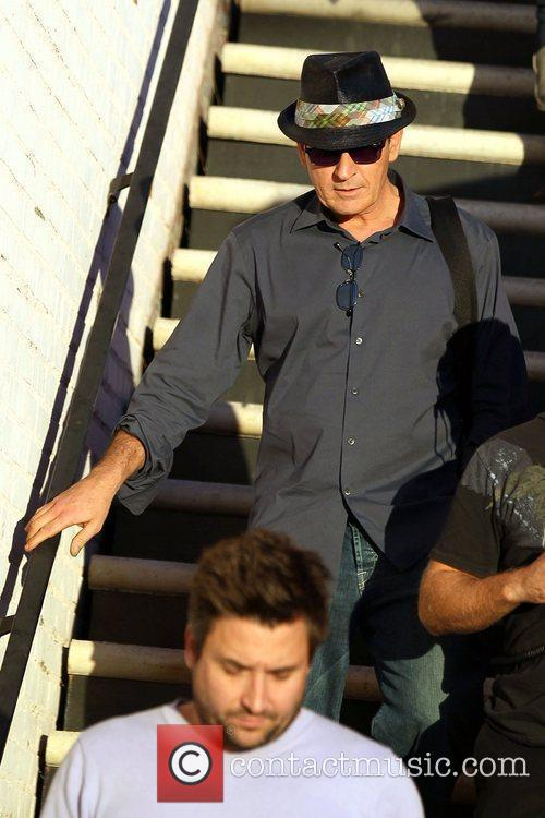 Charlie Sheen and Leaves 4