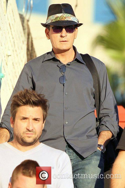 Charlie Sheen and Leaves 7