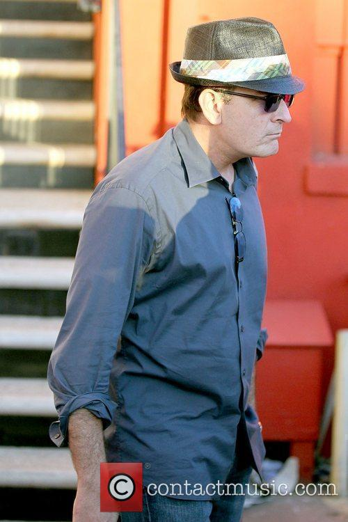 Charlie Sheen and Leaves 19