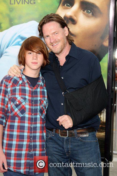 Donal Logue and son Finn 1