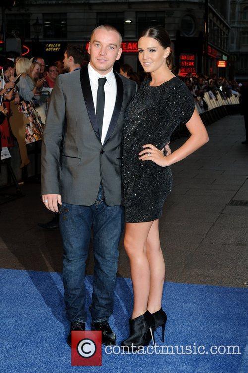 Jamie O'Hara and Danielle Lloyd 'Charlie St. Cloud'...