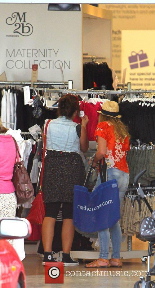 Charlotte Church gets ready for some retail therapy...