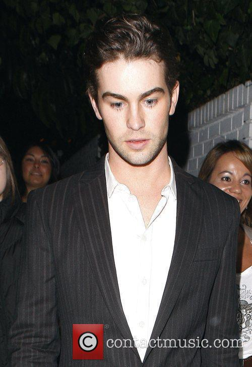 Attends a private party at Chateau Marmont