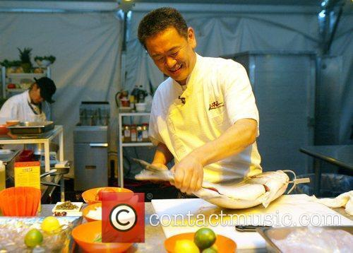 Chef Kaz Okochi King of the Kitchen hosted...
