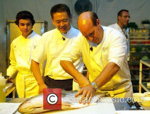 Chefs Todd Gray and Kaz Okochi King of...
