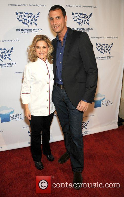 Nigel Barker, celebrity chef Cat Cora and The...