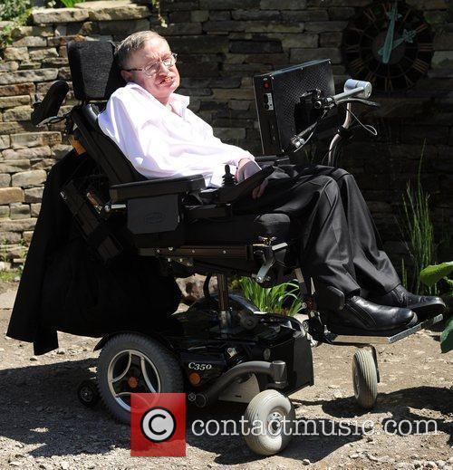 Stephen Hawking Chelsea Flower Show