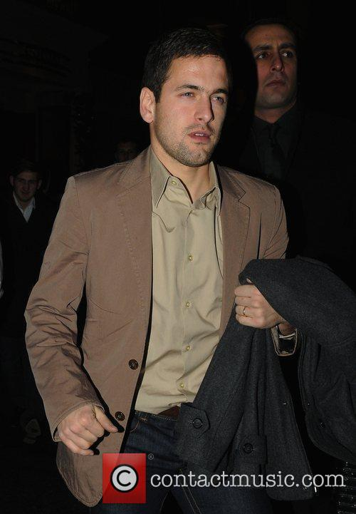 Joe Cole leaving Whisky Mist after the Chelsea...