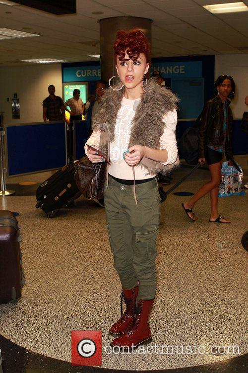 Arrives at Miami International Airport