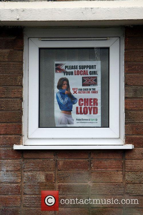 'The X Factor' finalist Cher Lloyd's house Malvern,...