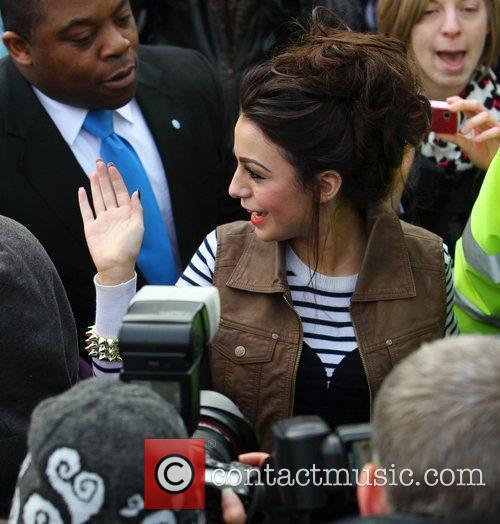 Visits her old school, Somers Park in Malvern