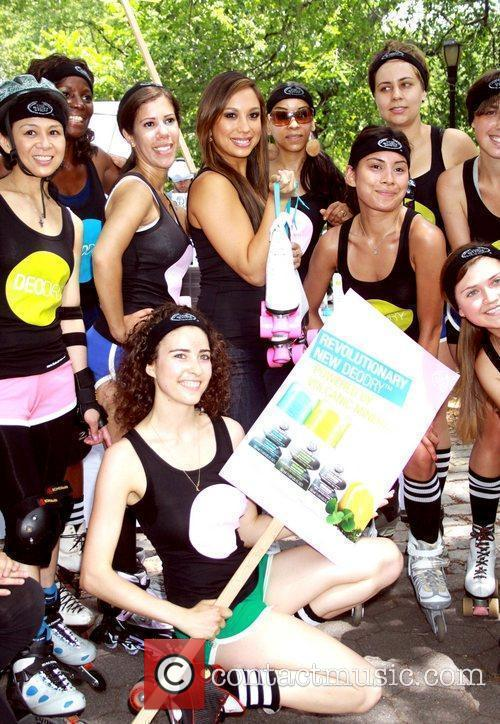 Cheryl Burke and The Body Shop launch the...