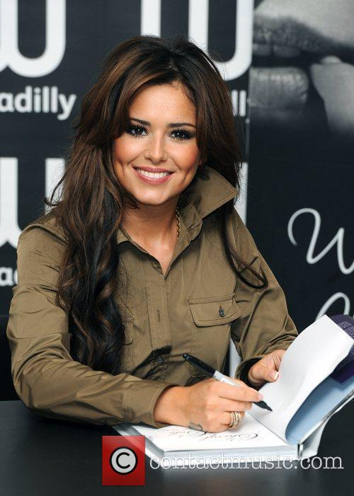 Cheryl Cole signing copies of her book 'Through...