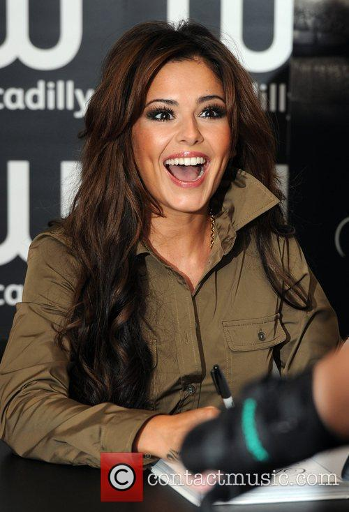 Cheryl Cole Signing her book 'Through My Eyes'...