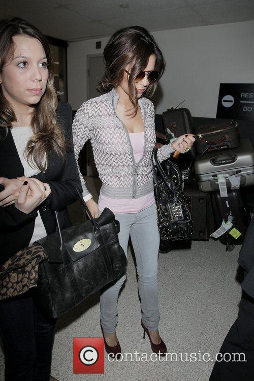 Cheryl Cole Arriving At Lax Airport On A Virgin Atlantic Flight From London Heathrow. 5
