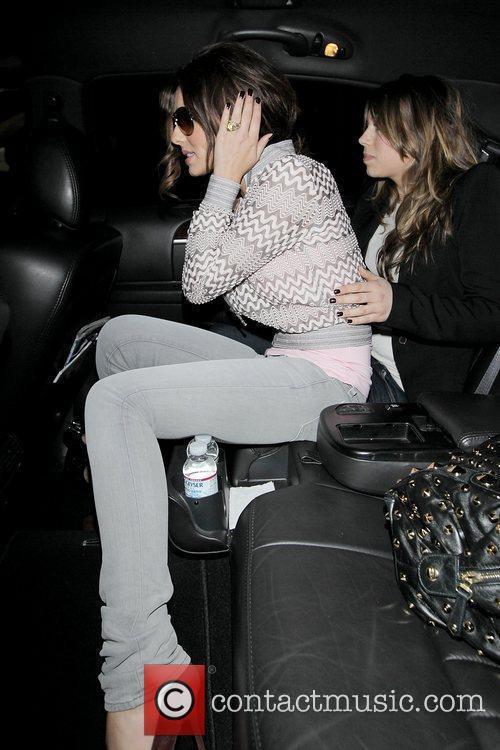 Cheryl Cole arriving at LAX airport on a Virgin Atlantic flight from London Heathrow. 13