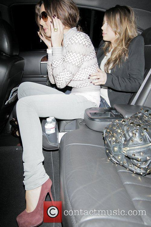 Cheryl Cole Arriving At Lax Airport On A Virgin Atlantic Flight From London Heathrow. 4