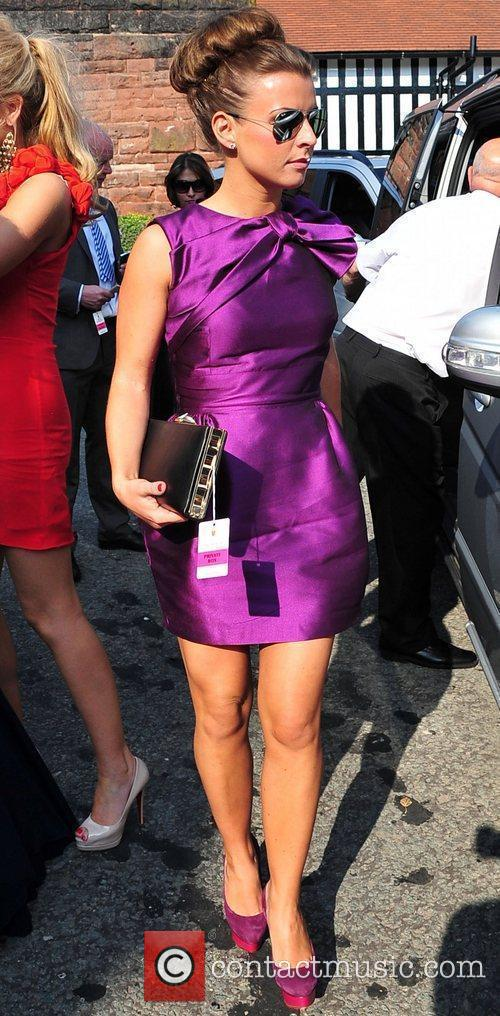 Coleen Rooney Celebrities at Chester Races  Chester,...