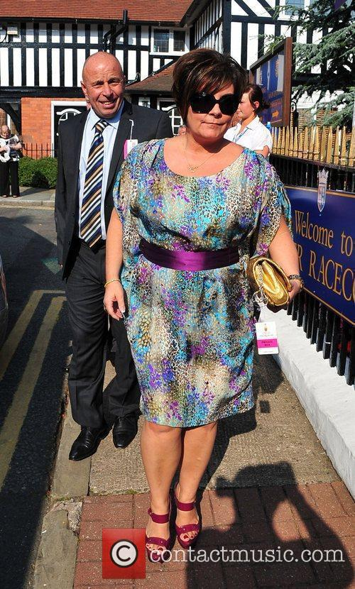 Coleen Rooney's Parents Celebrities at Chester Races...