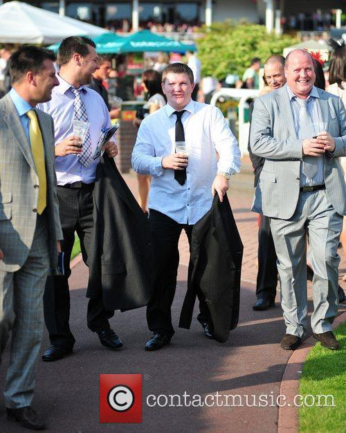 Ricky Hatton Celebrities at Chester Races  Chester,...