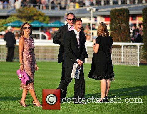 Michael Owen and wife Louise  Celebrities at...