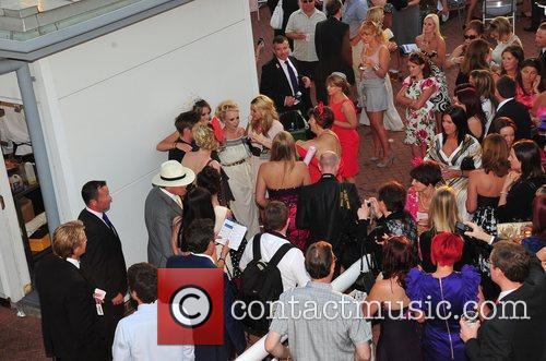 Cheryl Brady, Ste Hay, Theresa McQueen  Celebrities...