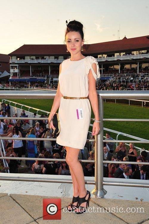 Holyoaks stars Celebrities at Chester Races  Chester,...
