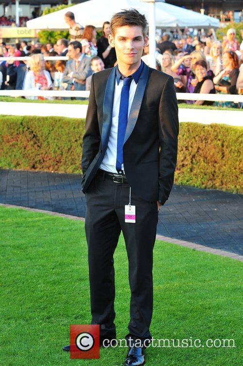 Ste Hay Celebrities at Chester Races  Chester,...