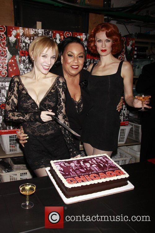 Charlotte d'Amboise, Roz Ryan and Leigh Zimmerman 'Chicago...
