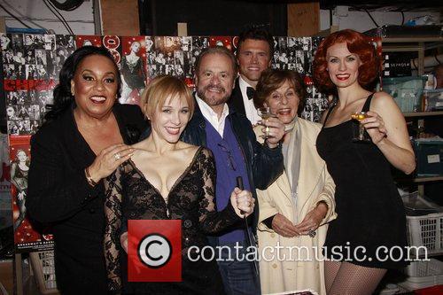 Roz Ryan, Charlotte d'Amboise, Barry Weissler,Brent Barrett, Fran...