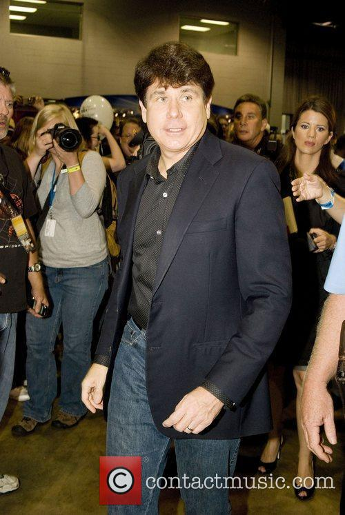 Former Illinois Governor, Rod Blagojevich Wizard World 2010...
