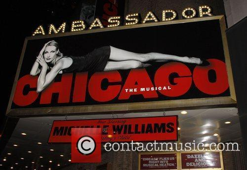 Michelle Williams Marquee, Chicago and Michelle Williams 2