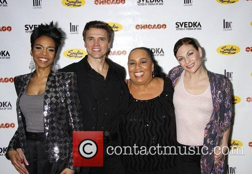 Michelle Williams, Brent Barrett, Roz Ryan and Terra Macleod 5