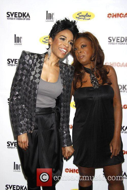 Michelle Williams and Star Jones 1