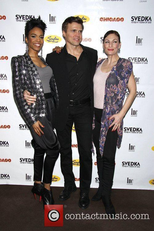 Michelle Williams, Brent Barrett and Terra Macleod 2